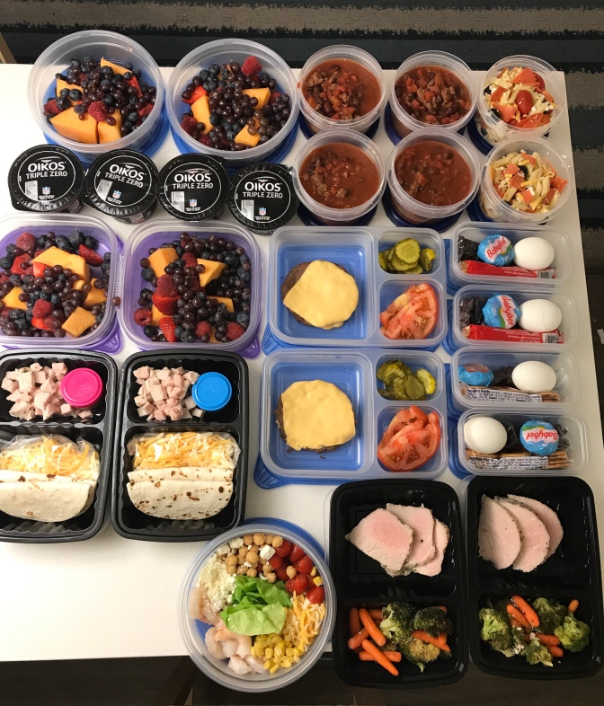 Living With Intention:  Meal Prepping Ahead of Time