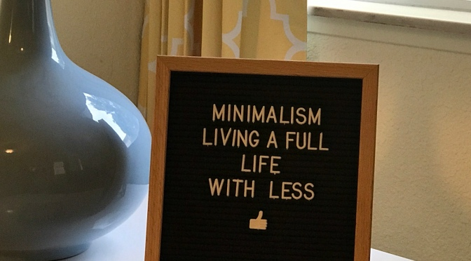 Minimalism – What is it?